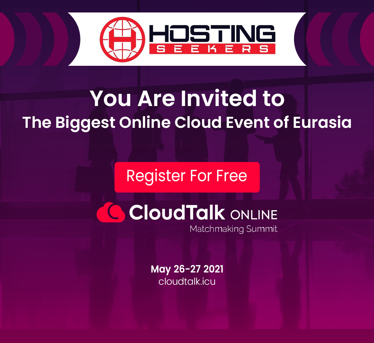 You are invited to the biggest online cloud event of Eurasia