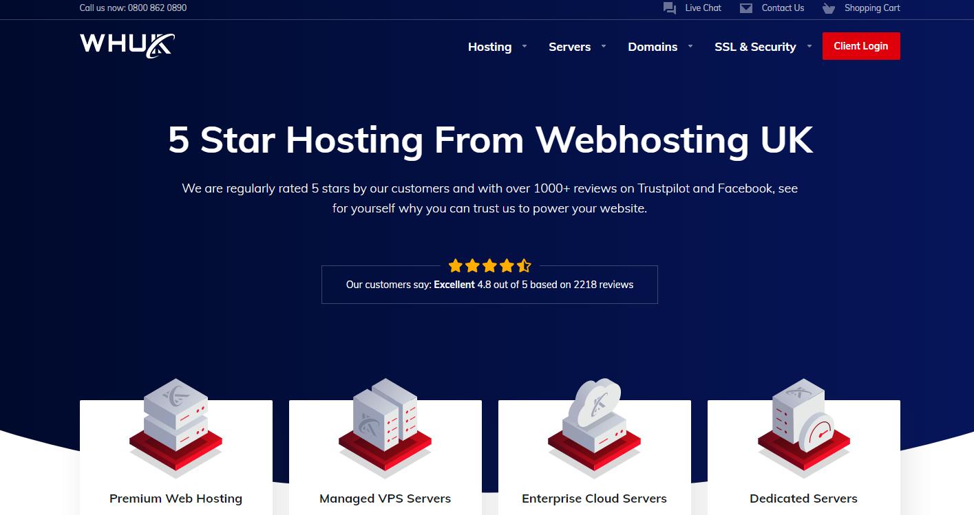 WebHostingUK (WHUK) banner