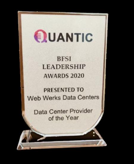 Web Werks India Pvt. Ltd. award