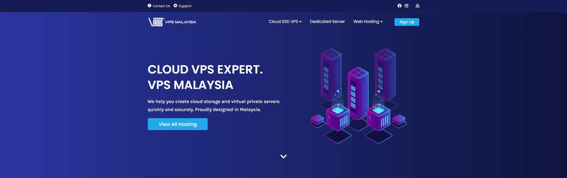 VPS Malaysia banner