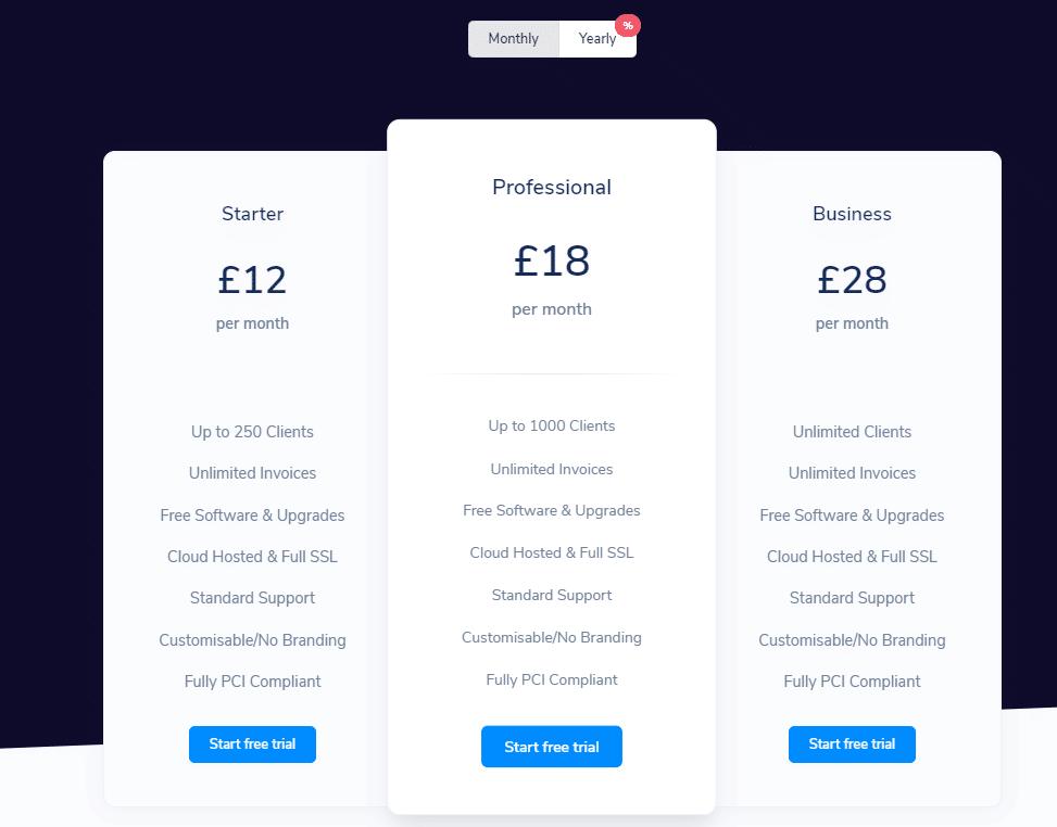 billingserv pricing