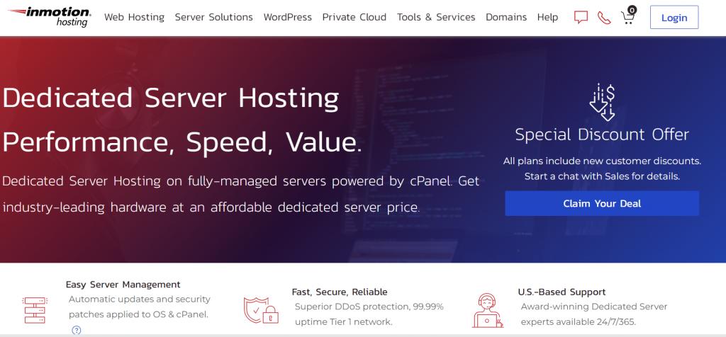 Top Dedicated Server Hosting USA